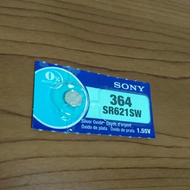 Sony SR621SW(364)扭釦電池