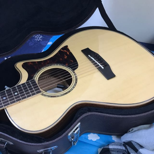 Tanger 手工全單板木吉他TGM20-SESR + Article Shp5 拾音器