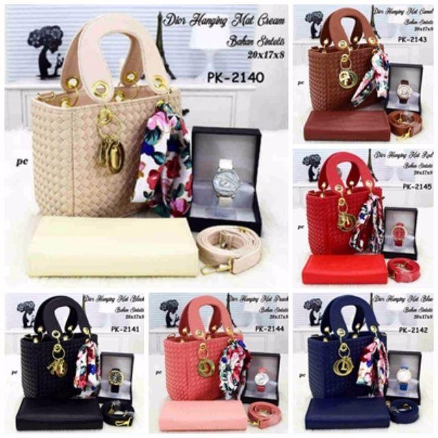 Tas Murah,Tas Paket,Tas Wanita,Tas Branded,Jam Tangan,Dompet,Dompet Murah,Dior, Olshop Fashion, Olshop Wanita on Carousell