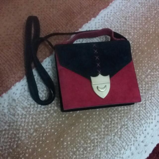 Tas Vintage Paloma Picasso Black&red