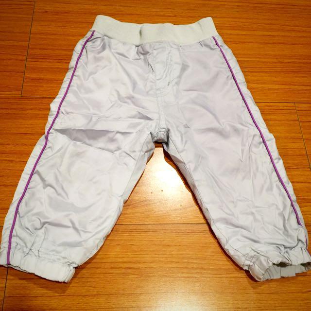 八成新以上❤️Unqlo 保暖褲 內裏刷絨 80cm