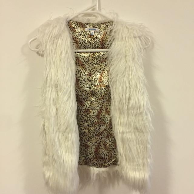 Valleygirl Faux Fur Vest