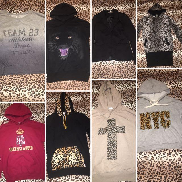 Various Jumpers/Hoodies/Jackets
