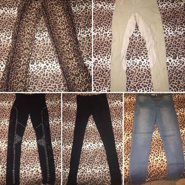Various Leggings, Jeans & Jeggings