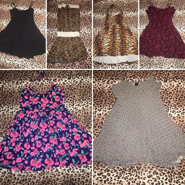 Various Short Dresses & Jumpsuits