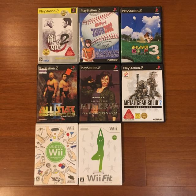 Wii  PS2遊戲