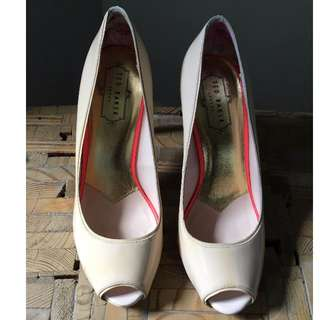Ted Baker Leather Court Shoe