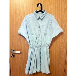 Denim casual dress (Price Reduced)