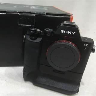 Sony A7 保固內 極新