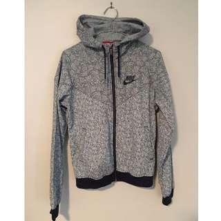 Nike Floral Denim Hoodie