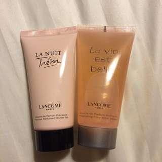 全新!蘭蔻 Lancôme 沐浴膠兩條合售