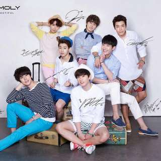 [Looking For] SJM Tonymoly Signed Poster