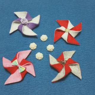 Pinwheel Hair Accessories For Ladies And Girls (1)