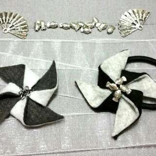 Pinwheel Hair Accessories For Ladies And Girls (2)
