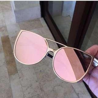 Quay Sorority princess Rose Gold Sunglasses