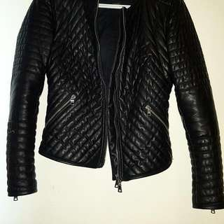 Armani Exchange Leather Jacket