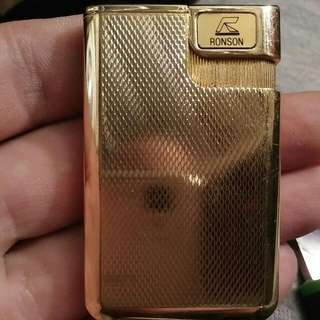 Ronson Japan 8ct Gold Lighter