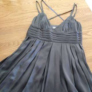 Gunmetal Grey Portland Dress Size 12