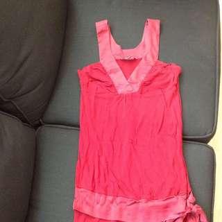 Red BeBe Dress