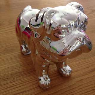 Shiny Bull Dog Money Box
