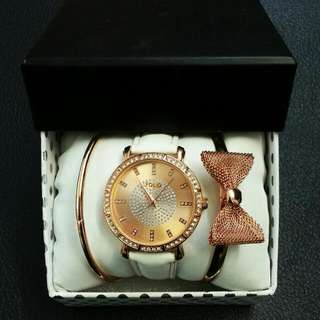 Watch and Bangles Set