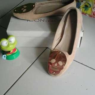 Flat Shoes ICONinety9 Tengkorak