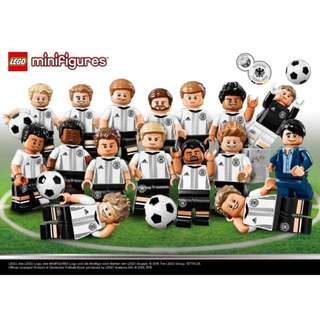 LEGO 71014 - DFB German Soccer Team (Retired)