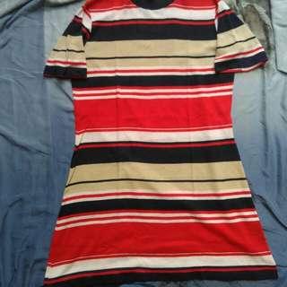 Long Dress Tshirt Vintage