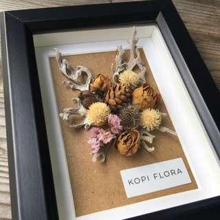 Framed Dried Flower