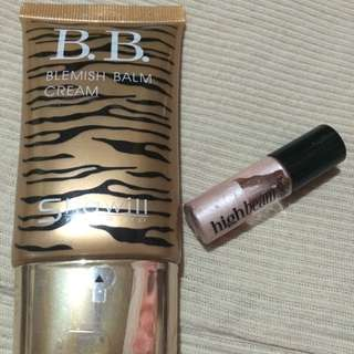 Authentic high beam (deluxe) and Shawill bb cream
