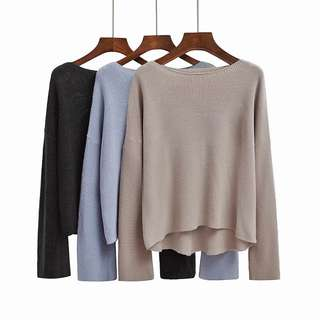 Knitted Top(3 Colours)