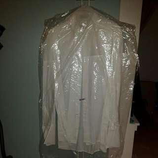 Large White  Dress Shirt
