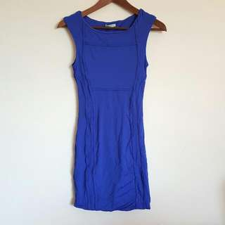KOOKAI bodycon Electric Blue Dress Size 1