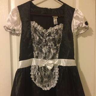 French Maid Halloween Costume Dress