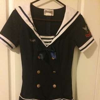 Sailor Halloween Costume -  Dress