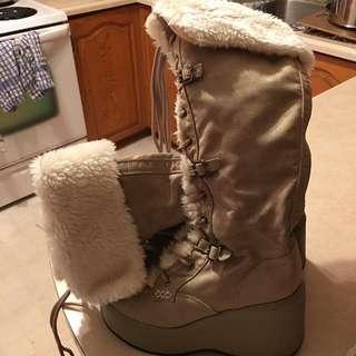 Size 8 Platform Knee High Boots ***Price drop!!
