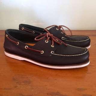 Timberland 2-eye Classic Boat Shoes Navy Size 12 Medium