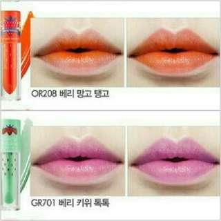 ETUDE Berry delicious color in liquid lips juicy tint