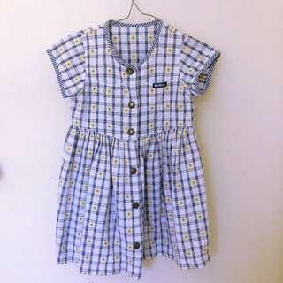Vintage Osh Kosh gingham baby dress