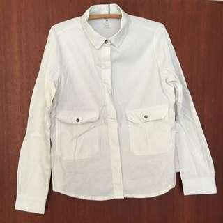 Light-wash Denim Shirt
