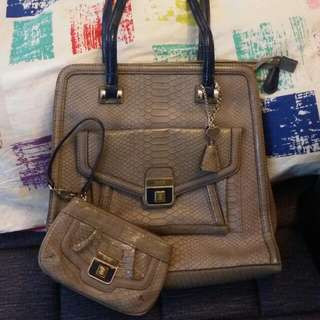 Guess Bag And Cosmetic Bag