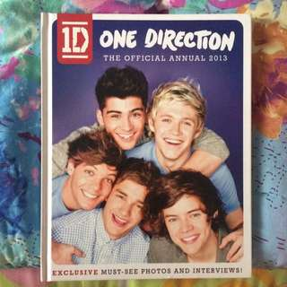 ONE DIRECTION THE OFFICIAL ANNUAL 2013