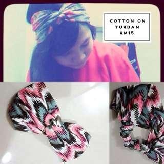 Cotton On Turban