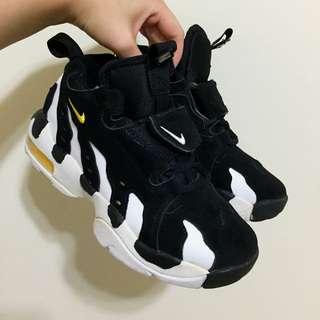 正品 黑白 喜歡可議Nike Air DT Max 96 GS 抓痕鞋