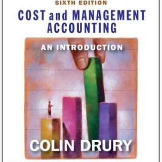 Cost and Management Accounting: an introduction 6th Edition (Colin Drury)