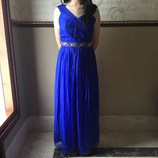 One Shoulder Night Gown / Long Dress