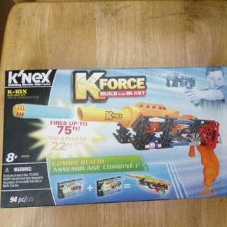 K Force Build and Blast 玩具槍 for kids toy