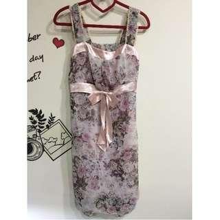 #1111女裝買太多  雪紡洋裝 $50