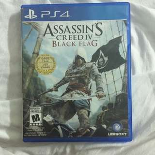 PS4 ASSASSIN'S CREED: BLACK FLAG $15