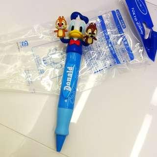 日本🇯🇵帶回。東京迪士尼。超可愛唐老鴨+奇奇蒂蒂筆